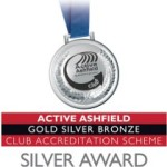 Active Ashfield Silver Award