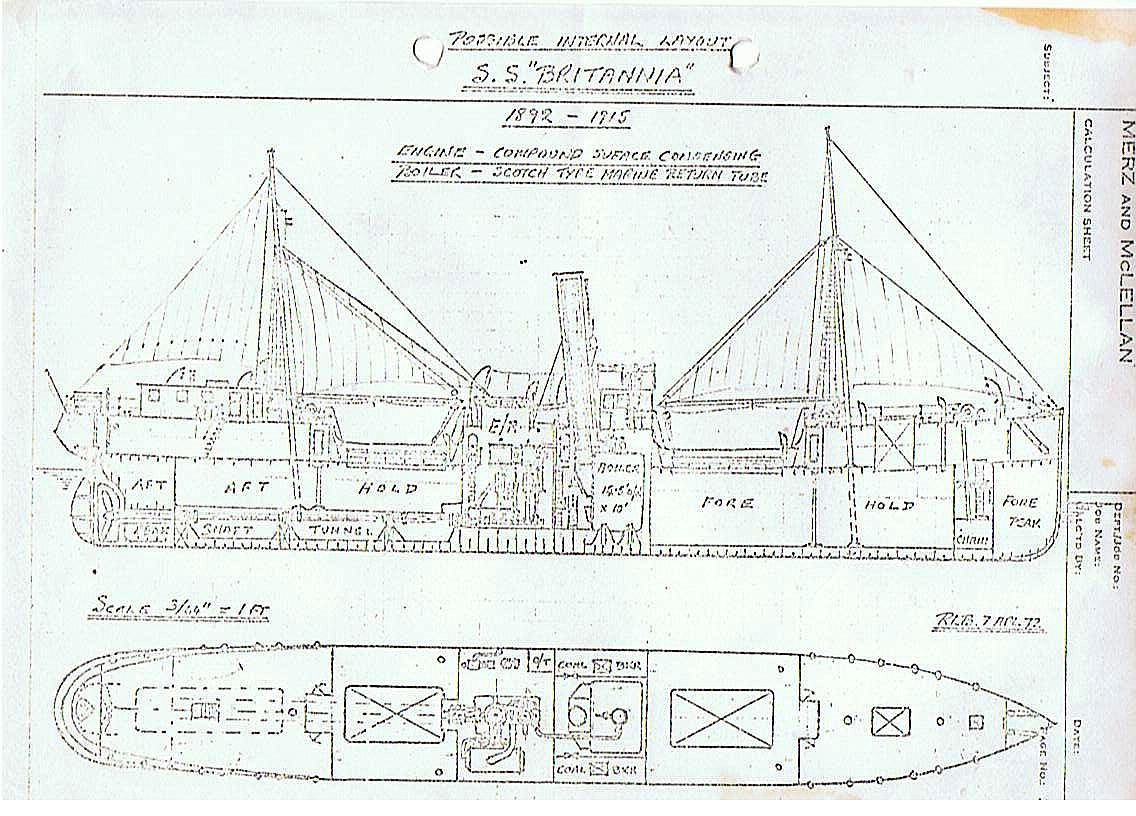 A Plan of the Britannia
