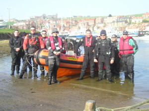 Mansfield Dive Club at whitby